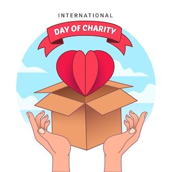 Tirage de la journée internationale de la charité
