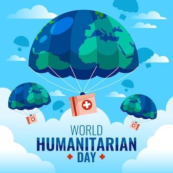 Tirage de la journée mondiale de l'aide humanitaire