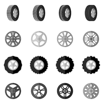 Tire icon black