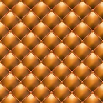 Tissu d'ameublement en cuir de luxe seamlesstexture, illustration vectorielle
