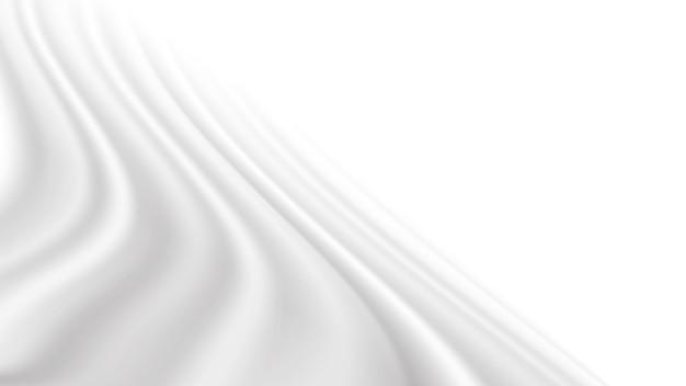 Tissu ou crème agitant l'illustration vectorielle pour le fond