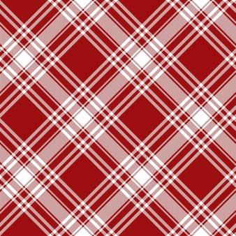 Tissu de kilt rouge avec des textures de tissu menzies tartan rouge