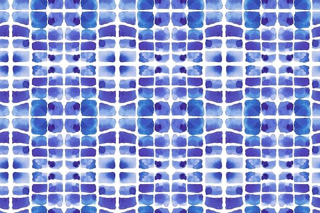 Tissu à motif aquarelle shibori