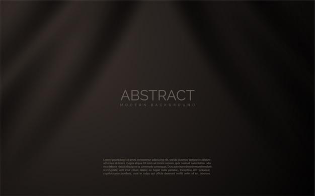 Tissu noir abstrait.