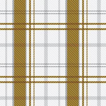 Tissu sans couture tartan