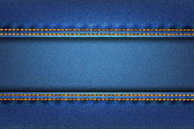 Tissu de texture denim jean abstrait comme arrière-plan.