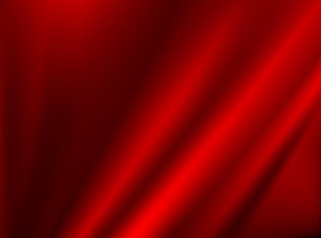 Tissu en tissu rouge foncé satiné isolé sur les arrière-plans de conception
