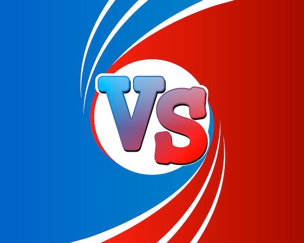Titre contre le duel, bataille rouge contre équipe bleue
