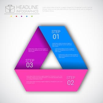 Titre infographie conception données de gestion collection graphique présentation espace de copie