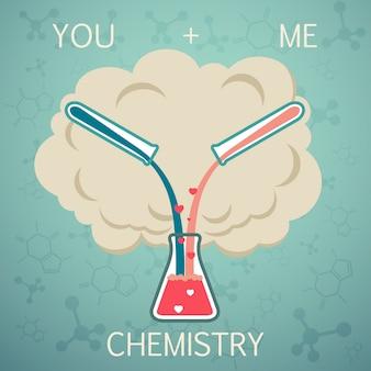 Toi et moi c'est de la chimie