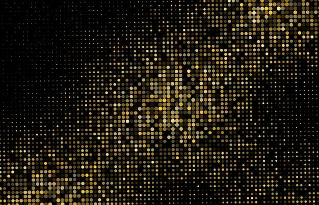 Toile de fond en demi-teinte paillettes d'or