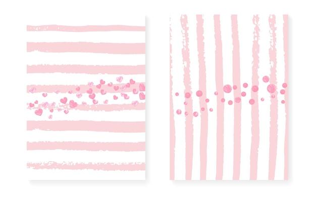 Toile de fond de la poussière d'or. illustration de pépinière d'or. art magique rose. ensemble de particules féminines. peinture éclatante. cadre d'éclaboussure à rayures. peinture gatsby blanche. toile de fond de poussière d'or à rayures