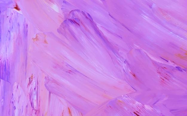 Toile peinte violette