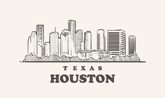 Toits de houston, texas