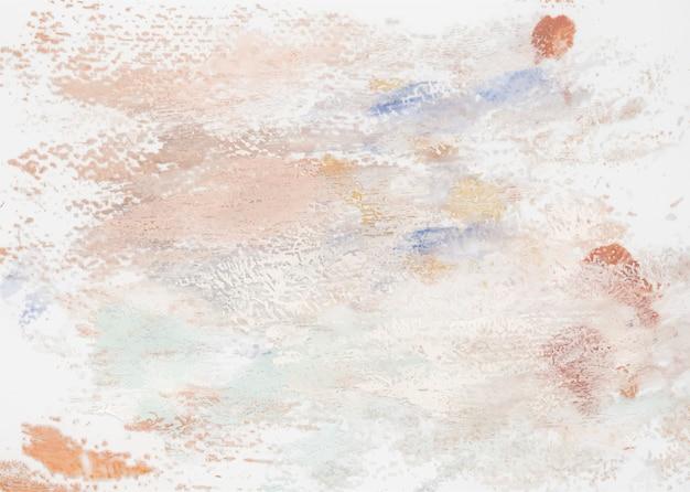 Ton de terre peindre sur une toile