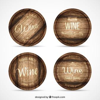 Les tonneaux de vin