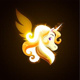 Tonnerre magic unicorn
