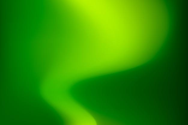 Tons verts dégradés