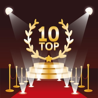 Top 10 du prix du meilleur podium