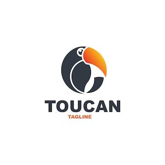 Toucan logo premium