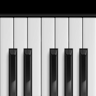 Touches de piano