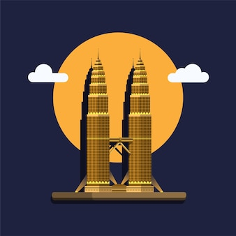 Tour petronas en malaisie