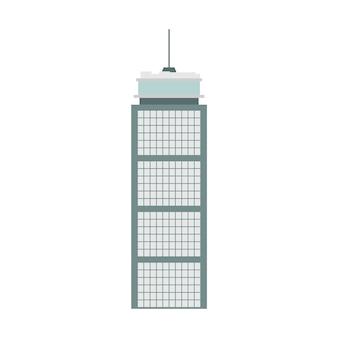 Tour de skycraper boston building vector