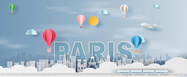 Touring tour eiffel paris city france