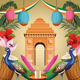 Tourisme monument indien