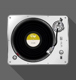 Tourne-disque rétro