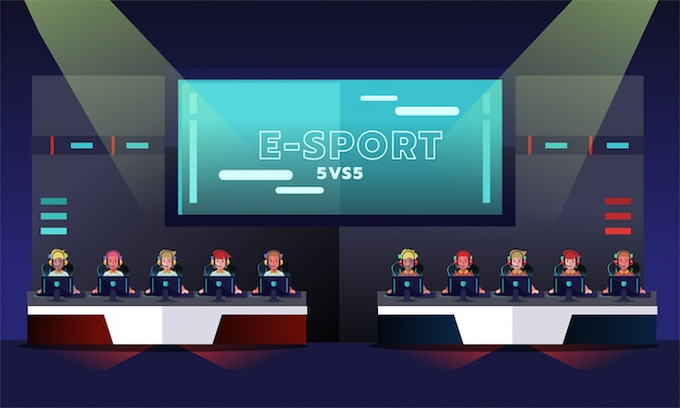 Tournoi e-sport