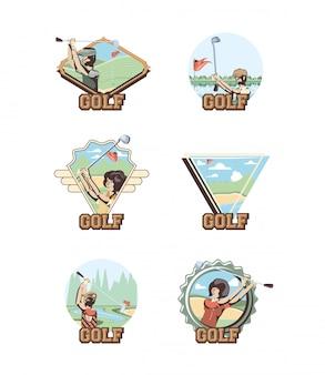 Tournoi de golf trophée d'or