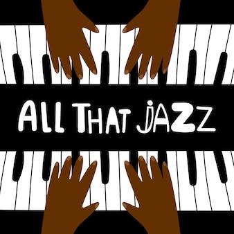 Tout ce fond de jazz