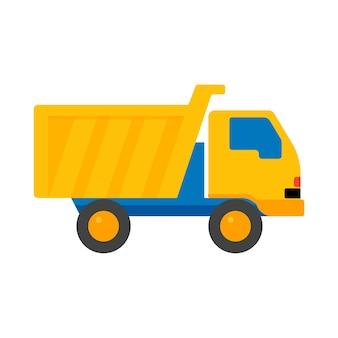 Toy truck cartoon jouets pour enfants illustration vectorielle.
