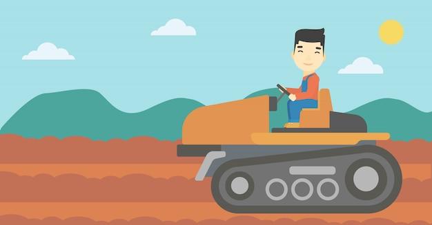 Tracteur de conduite