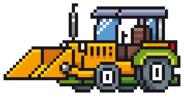 Tracteur de dessin animé