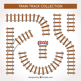 Trains track collection