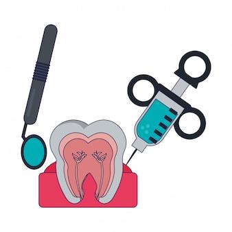 Traitement dentaire médical
