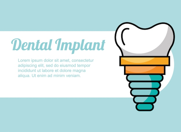 Traitement des implants dentaires