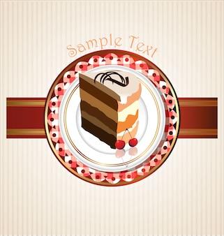 Tranche de gâteau