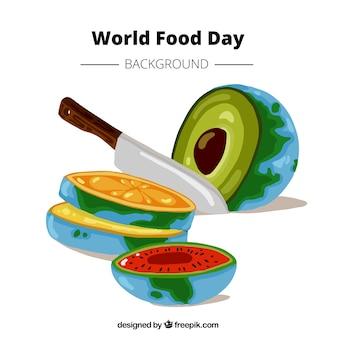 Tranches de fruits savoureux pour la journée alimentaire mondiale