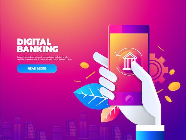 Transactions monétaires dans le monde, les affaires, la banque mobile et le paiement mobile.