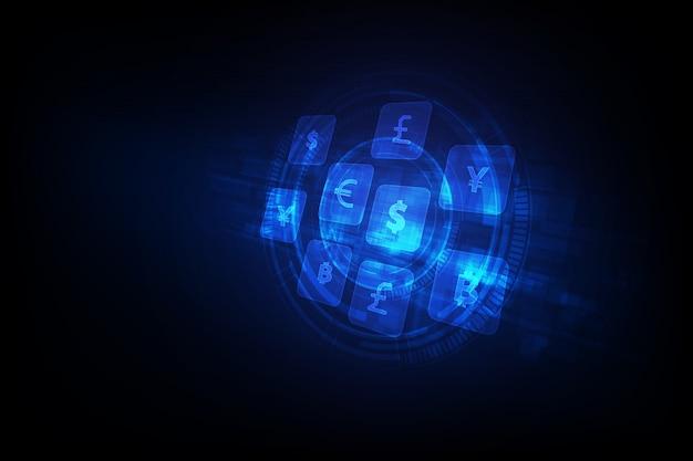 Transfert d'argent global currency exchange