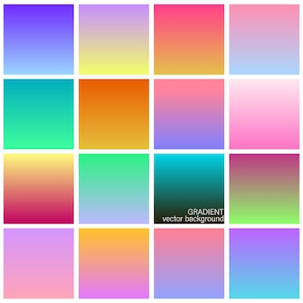 Transitions de couleurs de thème duotone dégradé