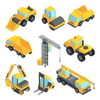 Transport 3d pour l'industrie de la construction