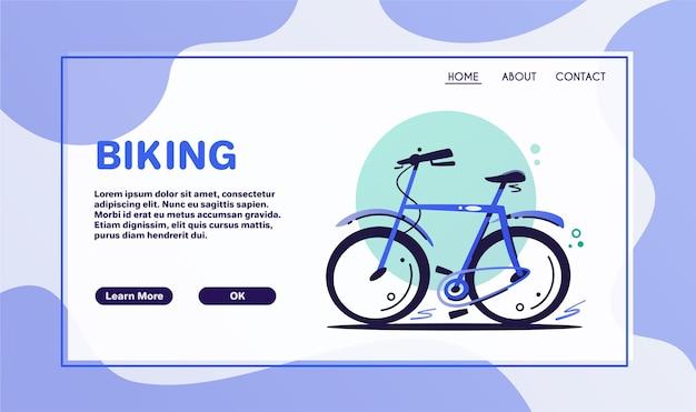 Transport écologique. scooter électrique et vélo isolé sur fond blanc. moyen de transport urbain écologique. vélo bleu de dessin animé, éléments de conception de scooter de coup de pied