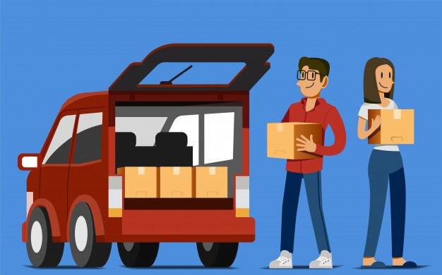 Transporter des marchandises à la compagnie maritime