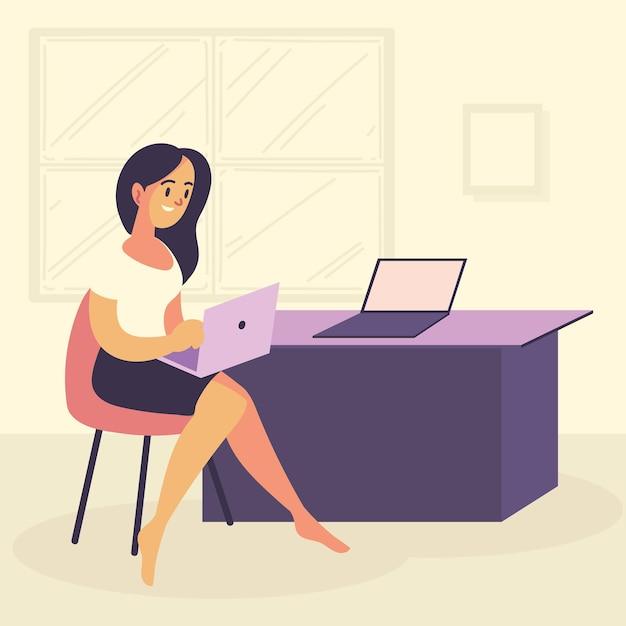 Travail indépendant à domicile