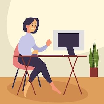 Travail en ligne indépendant