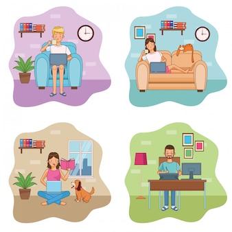 Travailler chez les travailleurs à domicile